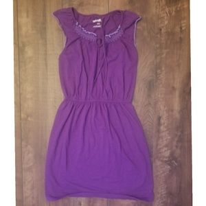 old navy size small purple dress